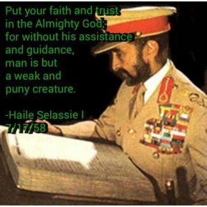Put your faith